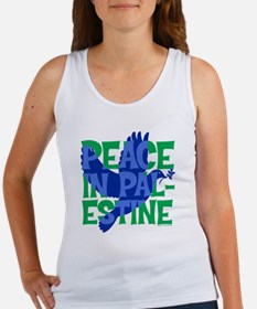 peace-in-palestine-t-shirt Women's Tank Top
