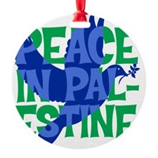 peace-in-palestine-t-shirt Ornament
