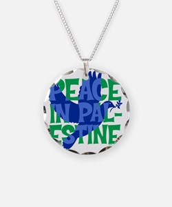 peace-in-palestine-t-shirt Necklace
