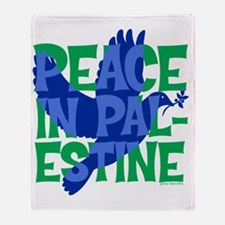 peace-in-palestine-t-shirt Throw Blanket