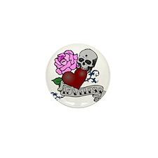 Loveless bite PNG Mini Button