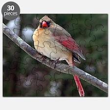 Female Cardinal 2 Puzzle