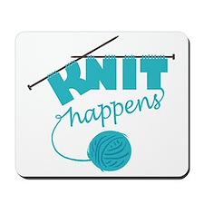 3-Knithappensedit Mousepad