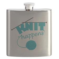 3-Knithappensedit Flask
