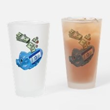 israel-piggy-bank-t-shirt Drinking Glass