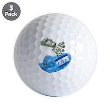 israel-piggy-bank-t-shirt Golf Ball