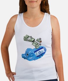 israel-piggy-bank-t-shirt Women's Tank Top