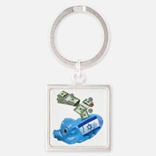 israel-piggy-bank-t-shirt Square Keychain
