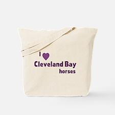 Cleveland Bay horses Tote Bag