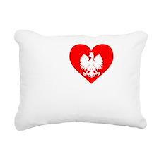 I Love Pierogi Apron Dar Rectangular Canvas Pillow