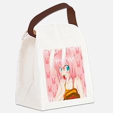Bunny Anime Canvas Lunch Bag