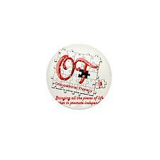 ot puzzle red Mini Button