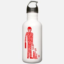 Number Four Water Bottle