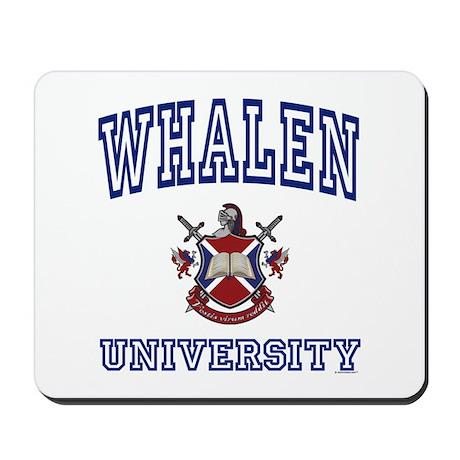 WHALEN University Mousepad