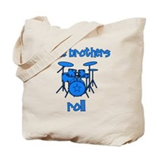 drums_littlebrothersroll_BLUE Tote Bag