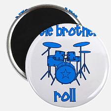 drums_littlebrothersroll_BLUE Magnet