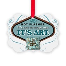 hot flashes Ornament