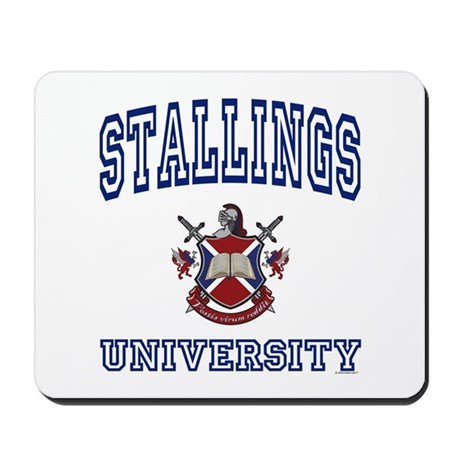 STALLINGS University Mousepad