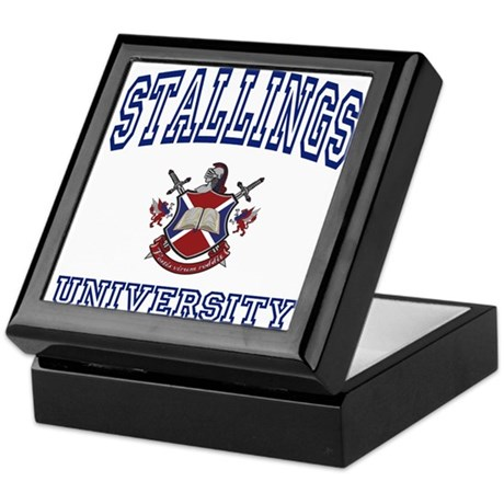 STALLINGS University Keepsake Box