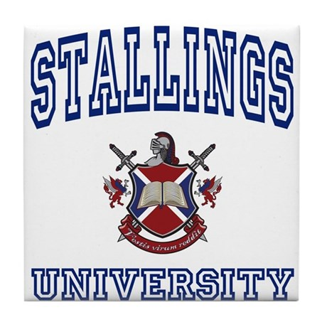STALLINGS University Tile Coaster