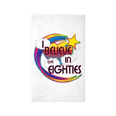 I Believe In The Eighties Cute Believer Design 3'x