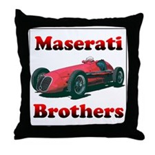 Maserati4CLT-10 Throw Pillow
