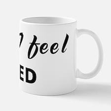 Today I feel awed Mug