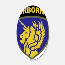 13th Airborne Division Oval Car Magnet