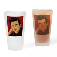Rick Astley, yo Drinking Glass
