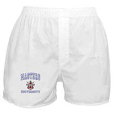 MASTERS University Boxer Shorts
