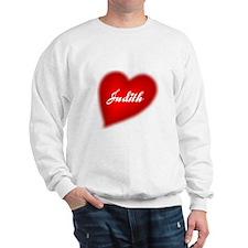 I love Judith products Sweatshirt
