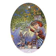Unk. Alice Oval Ornament