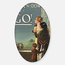 Women of Downton Sticker (Oval)
