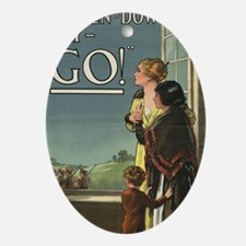 Women of Downton Oval Ornament