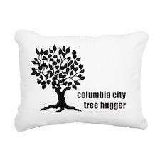 cc tree hugger front Rectangular Canvas Pillow