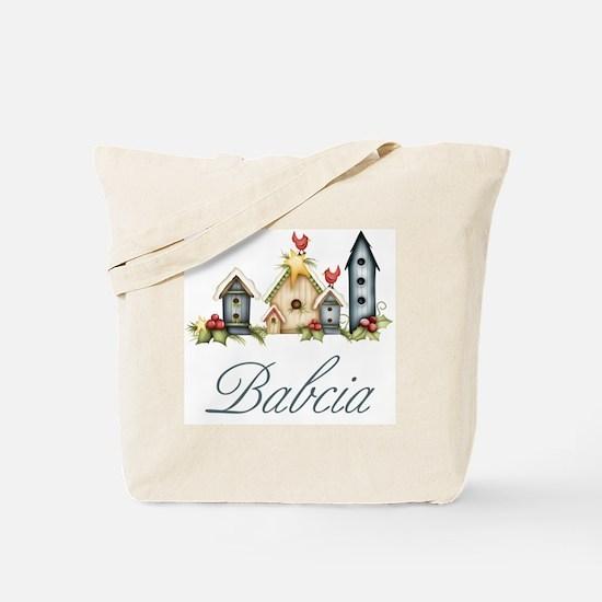 babcia birdhouse Tote Bag