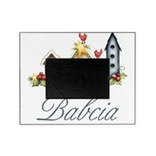 babcia birdhouse Picture Frame