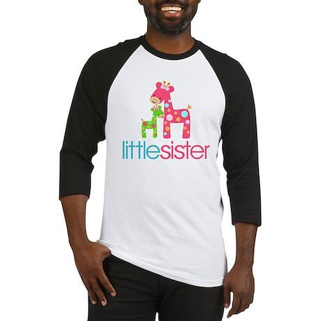 funky giraffe little sister no nam Baseball Jersey