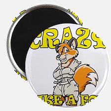 crazy_like_a_fox Magnet