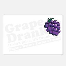 grapedrinkwhite Postcards (Package of 8)