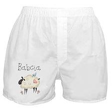 babcia spring lamb Boxer Shorts