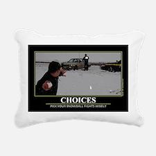 CAFE052Choices1117Wide Rectangular Canvas Pillow
