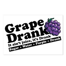 Grape Drank Postcards (Package of 8)