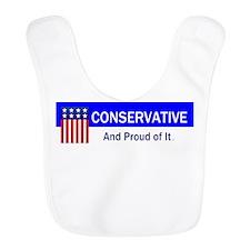 Conservative Slogan Bib