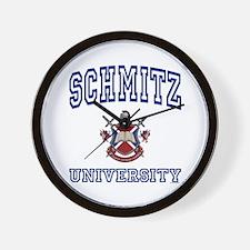 SCHMITZ University Wall Clock