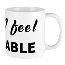 Today I feel available Mug