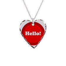 btn-hello Necklace