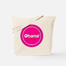 2-btn-obamapeace-pink Tote Bag