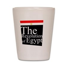 Revolution of Egypt Shot Glass
