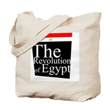 Revolution of Egypt Tote Bag